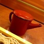 ばんどう太郎 - 2011/12蕎麦湯