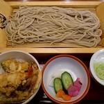 ばんどう太郎 - 2011/12ミニ天丼ランチ934円