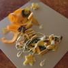 たんたん - 料理写真:柿と旬の野菜