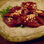 釧路食堂 - レバ刺し