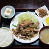 米沢ラーメン吉久 - 料理写真:焼肉定食