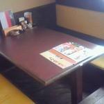 とんかつと和食 てつ兵衛 - 座席
