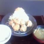 とんかつと和食 てつ兵衛 - から揚げ定食 お勧めです。マジでおいしい
