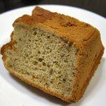 パンハウスキキ - 料理写真:紅茶のシフォンケーキ