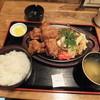 市川食堂 - 料理写真:鳥から焼きそばセット