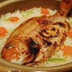 味菜 - ● 鯛めし