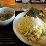実咲庵 - 油かすつけ麺