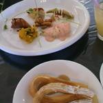 La Felice - サラダ&前菜  そしてパン