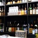 勝元 - 酒飲みには、ワクワクするような光景だと思います。 さあ、どれを飲もうって感じですね。