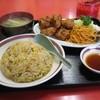 大野飯店 - 料理写真:唐揚げ炒飯定食