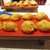 菊兆 - 料理写真:明石焼き(手前)と、明石焼えびマヨネーズ焼(奥)