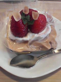 空気ケーキ。