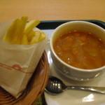 モスバーガー - 料理写真:Sポテセット