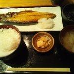銀座ひかり - 鯖の塩焼き定食
