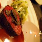 10940431 - フランス料理といえばやはり肉と赤ワインか!!