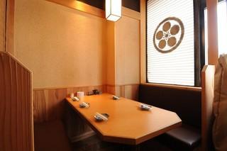 樽平 - テーブル席も御座います。