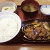 お食事処 いろは食堂 - 料理写真:ナス肉炒め定食 780円