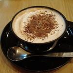 喫茶 ばーんせっと - ウィンナーコーヒー450円