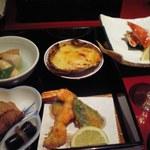 北の海道 - 蟹の定食