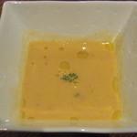 ビストロMER - つきだし(桜海老と白菜のあったかスープ)