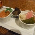 ビストロMER - フランス惣菜盛り合わせ 5種 ②