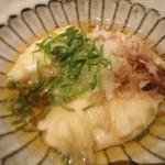 金魚 - 揚げだしジーマーミ豆腐☆