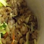 グッドウッドテラス - 1回目2011年12/28ジャークポーク丼のご飯 ジャマイカ風赤飯