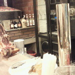 スペイン食堂 - イベリコ生ハムも300円で頂けました。
