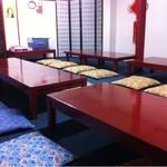 餃子ハウス 長安 - 2階には30名入れる宴会場があります。