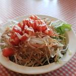 パデラトゥーラ - サラダセットのサラダ