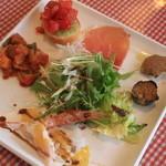 パデラトゥーラ - ランチスペシャルコースの前菜