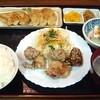 餃子の紅丸 - 料理写真:紅丸定食 700円