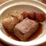 多古久 - ロールキャベツ・ボール・焼き豆腐