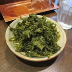 麺屋はやしまる - 岩ノリ100円