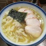 麺屋はやしまる - チャーシューワンタン1020円