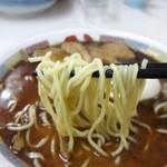 蜂屋 - しょうゆラーメン 麺