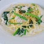 イチリン カフェ - 鱈とほうれん草 2種のチーズ