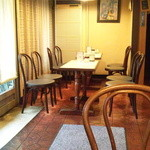 珈琲香房 - 店内②(テーブル席)