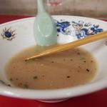 天琴 - ラーメンの写真はNGと・・食べてる人ならいいと