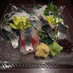 九州 熱中屋 新宿LIVE - 豊後鯖の刺身