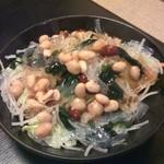 世界の山ちゃん 川崎砂子店 - 豆サラダ