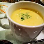 エピスカフェ - 夜ランチのスープ