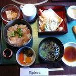 天まで上がれ - あつ飯と天ぷら御膳