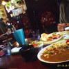 プランタン - 料理写真:叔母がオーダーしたランチメニューと手前はドライカレー定食セット