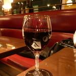 オー バカナル - 赤ワイン2杯目