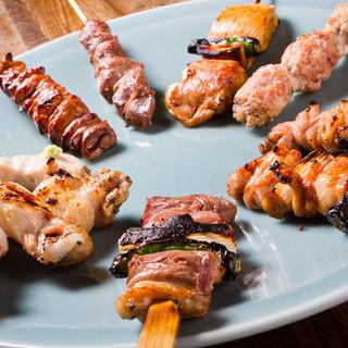 伊勢廣 - 料理写真:鶏堪能フルコースが絶品