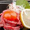 HONMACHI - 料理写真:極上!霜降りユッケ 1,344円