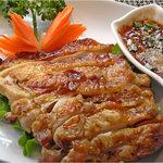 プラウチャイ - 鶏のハ-ブグリル