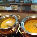 マントラ - ダル(豆)カレー、ミックスベジタブルカレー