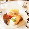 HAMA CAFE - 料理写真:オススメのケーキプレート